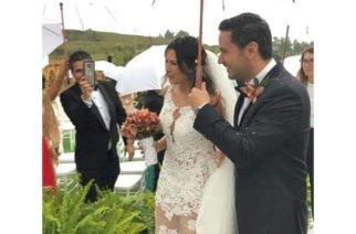 Comparten fotografías  de la boda y luna de miel de Laura Moreno