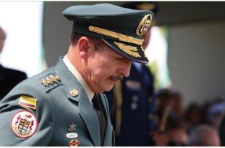 Confirman que sí hay un proceso contra el General Nicasio Martínez
