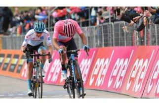 Damiano Cima es ganador de la etapa 18 del Giro de Italia