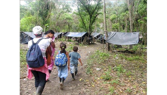 Desplazados en corregimiento Juan José iniciaron el retorno sin garantías