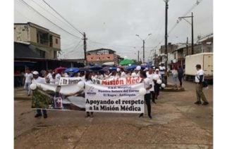 Después de la crisis médicos regresaron al hospital de El Bagre