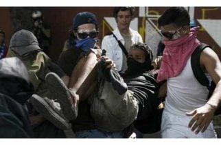 Dos muertos se cuentan hasta el momento durante protestas contra Maduro
