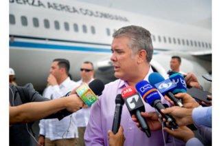 Duque dice tener material que demuestra espionaje y alianza del ELN con Maduro