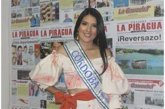 Ella es María Inés Villalba, representante por Córdoba al Reinado Nacional de la Ganadería
