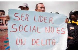 En Risaralda 74 líderes sociales han sido amenazados a muerte