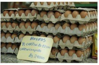En Venezuela, un huevo cuesta lo mismo que 100 millones de litros de gasolina