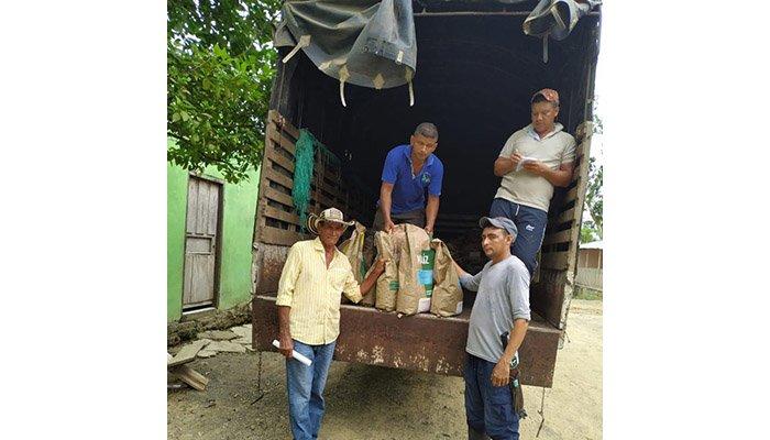 Entregan a productores de Montelíbano semillas en reemplazo a cultivos ilícitos