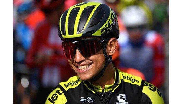 Esteban Chaves, quedó en el segundo lugar en la etapa 17 del Giro de Italia