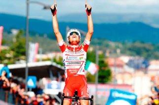 Fausto Masnada fue el ganador de la sexta etapa  del Giro de Italia, Valerio Conti es el nuevo líder del torneo