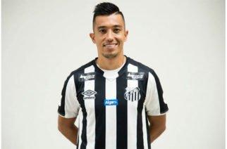 Fernando Uribe, nuevo jugador de Santos de Brasil