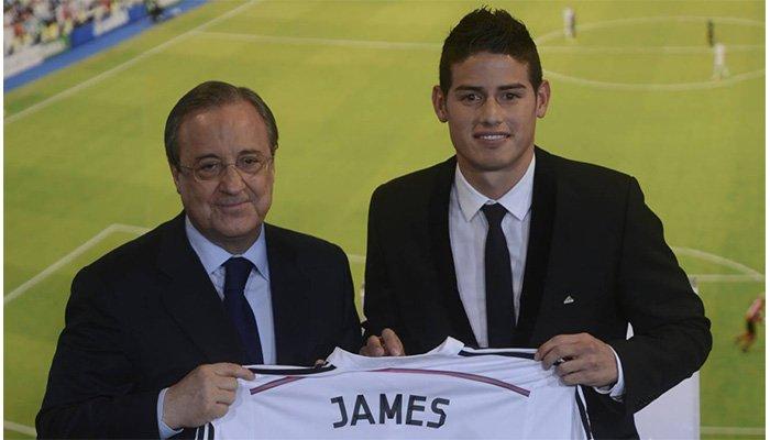 Florentino Pérez asegura que el Bayern no hará negocio con James Rodríguez