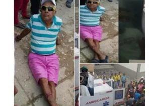 ¡Por política! Sobrino del alcalde de Purísima se fue a los golpes con su tío en la vía pública