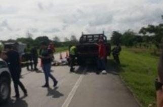 Trágico accidente en la vía Cereté-Ciénaga de Oro