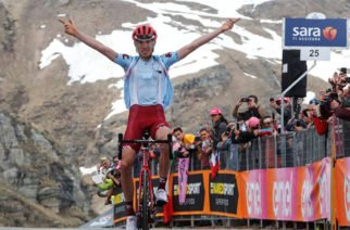 Ilnur Zakarin se impuso en la etapa 13 del Giro de Italia
