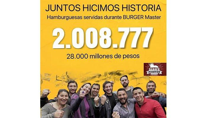 Más de dos millones de hamburguesas se vendieron durante el Burger Master, Montería en el puesto número 9 de 13