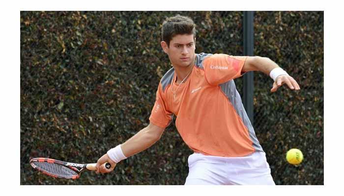 Nicolás Mejía debutó en su participación en el ITF de Vero Beach