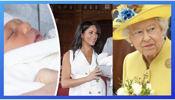 Reina Isabel I se queda con la custodia de Archie, el primogénito de los duques de Sussex