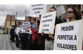 Retrasan proyecto que busca la cadena perpetua para violadores de menores
