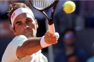 Roger Federer se retira del Master 1.000 de Roma por lesión.