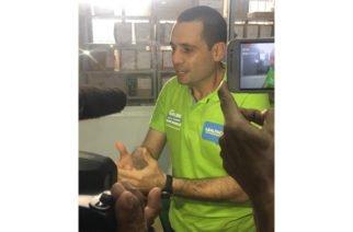 Salin Ghisays  va por firmas a la Alcaldía de Montería