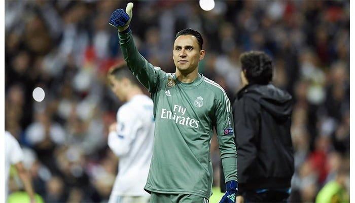Según la prensa española Keylor Navas no seguirá en el Real Madrid