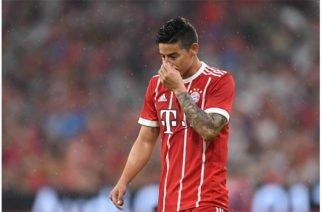 James publica en Twitter emotiva despedida a su salida del Bayern