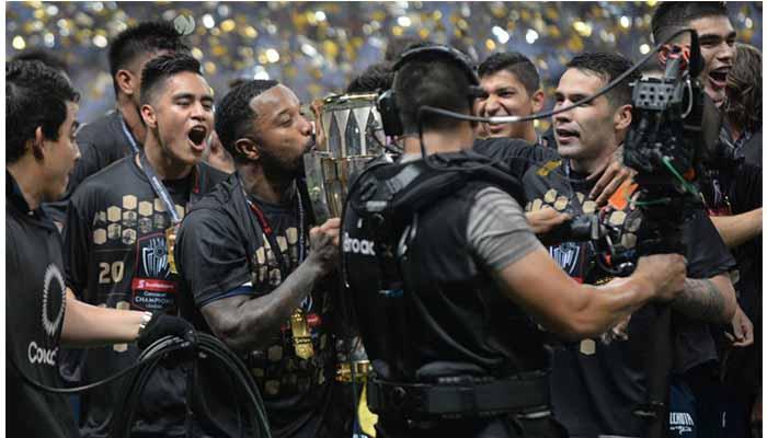 Stefan Medina, Avilés Hurtado y Dorlan Pabón, campeones de la Liga Concacaf