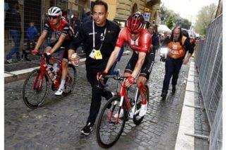 Tom Dumoulim, se retira del Giro de Italia
