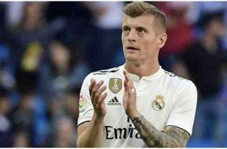 Toni Kroos amplió contrato con el Real Madrid hasta el 2023