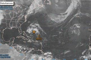Tormenta subtropical Andrea se forma sobre el Atlántico