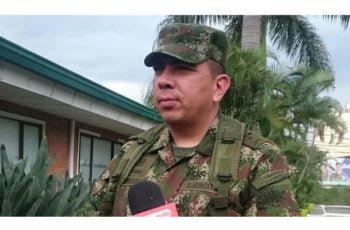 Transmisión de mando en la brigada 11