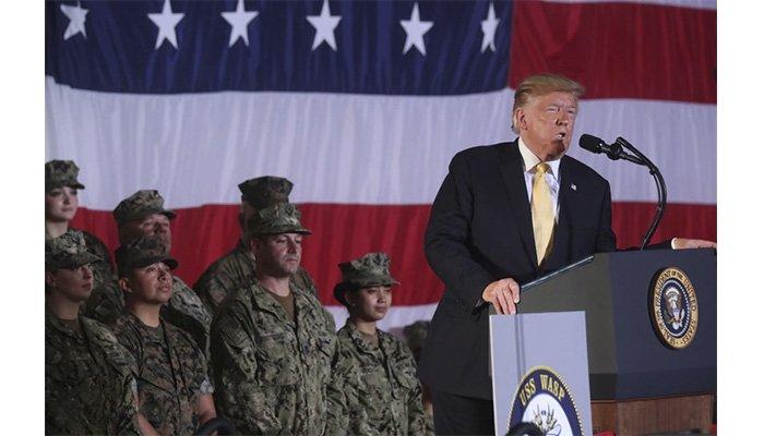 """Trump sigue provocando a China y afirma que tiene equipamiento militar """"como nadie en el mundo"""""""