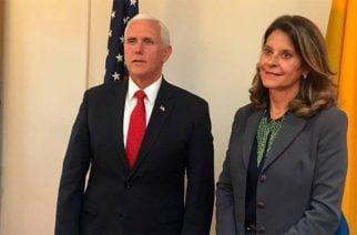 Vicepresidente de EE.UU felicitó a Colombia por su progreso en la lucha contra el narcotráfico