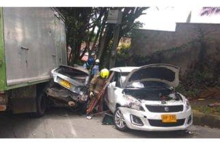 Video: En Medellín camión que habría quedado sin frenos generó fatídico accidente