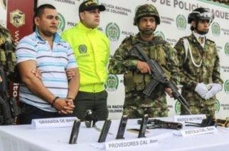 Ejército y Policía logran la captura de alias Mono Toño cabecilla del GAO residual subestructura 49