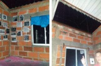 En Ayapel cerca de 30 familias resultaron afectadas por vendaval