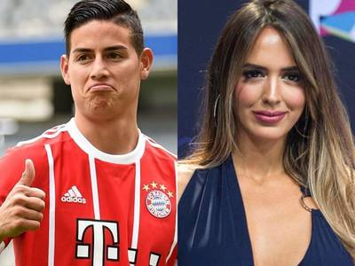 ¡Ennoviados! James celebra triunfo del Bayern acaramelado con Shannon de Lima