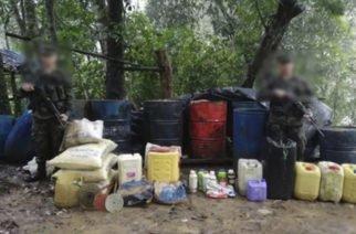 Ejército ha desmantelado 39 laboratorios de coca en lo que va de año