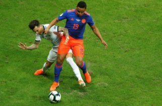Muriel no jugará el resto de la Copa América tras sufrir lesión en su rodilla