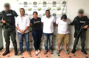 Alias 'Pío', 'Manina', 'Don Mario' y 'La Investigadora'  fueron capturados por extorsión en Córdoba