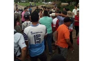 Bloqueos en barrio La Esperanza por estado de las vías