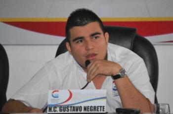 Por presunta falta la Procuraduría inhabilita por 10 años al concejal Gustavo Negrete