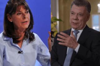 """Vicepresidenta Marta Lucía Ramírez le responde a Santos: """"Legalización de droga no es una opción"""""""