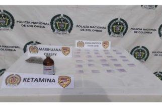 Capturan en Planeta Rica a un hombre que pretendía comercializar cocaína rosa, una droga altamente peligrosa