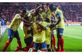 Colombia se enfrentará a Ucrania en cuartos de final en el Mundial Sub-20