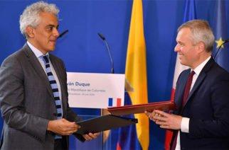 Colombia y Francia firmaron acuerdo para la cooperación en protección del medioambiente