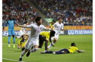 Corea del Sur goleó 1-0 a Ecuador en un partido de infarto que los lleva directo a la final del Mundial Sub 20