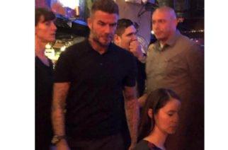 David Beckham está en Bogotá y viajará a Medellín por compromisos laborales