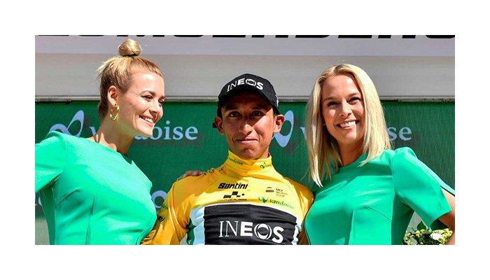 Egan Bernal gana la séptima etapa y consolida el liderato en la Vuelta a Suiza