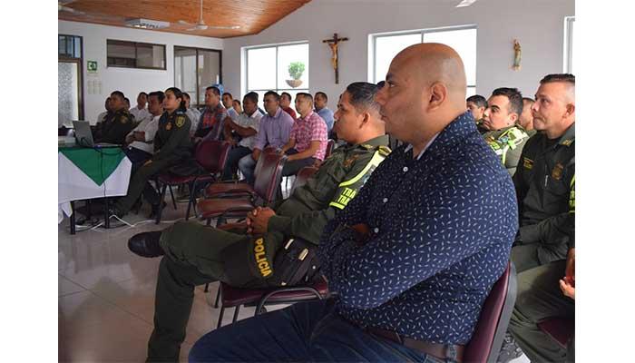 En el marco del fallo de la Corte, Policía realizó en Montería el segundo taller  frente al consumo de alcohol y drogas en espacios públicos